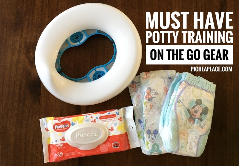 Gather the must have potty training on the go gear, and be ready wherever and whenever your toddler needs to use the bathroom!