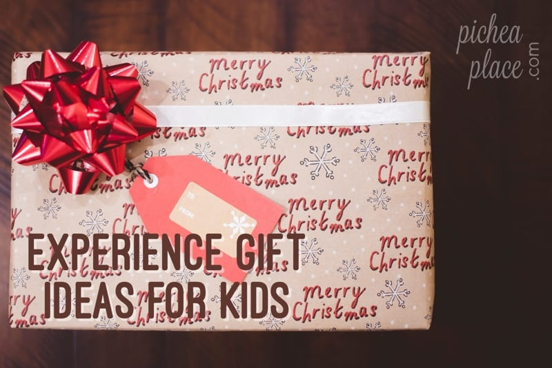 Experience gift ideas for christmas