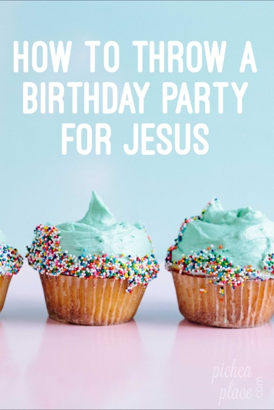 One of the ways our busy family is intentional about keeping Christ in Christmas is to throw a birthday party for Jesus. Here's how we do it...