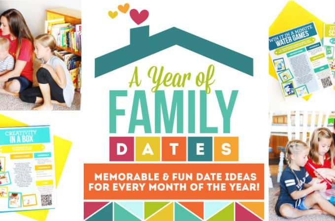 Once-a-Month Family Date Night | A Whole Year of Busy Family Date Night Ideas