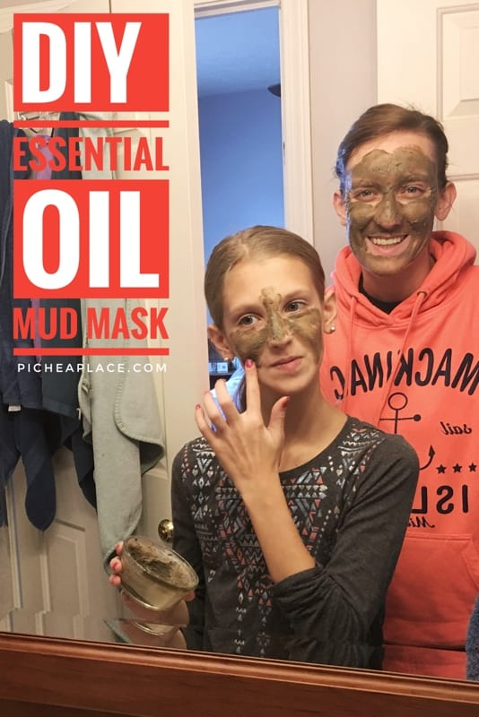 Make this DIY mud mask with essential oils recipe from the Simply Earth essential oils subscription box - a perfect way to enjoy a mother-daughter date with your tween daughter!