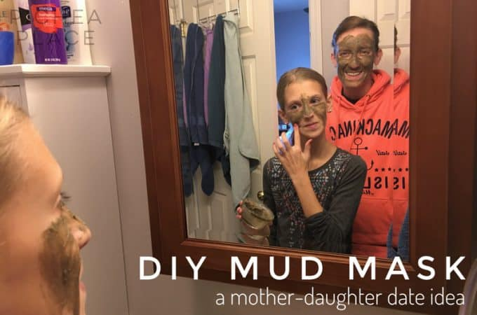 Make this DIY mud mask with essential oils recipe from the Simply Earth essential oils subscription box. It's the perfect way to enjoy a mother-daughter date with your tween daughter!