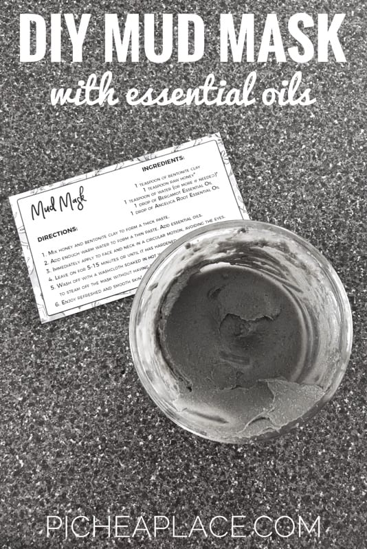 Make this DIY mud mask with essential oils recipe from the Simply Earth essential oils subscription box. A perfect way to enjoy a mother-daughter date with your tween daughter!