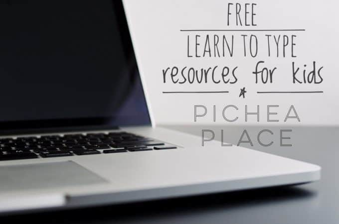 Free Learn to Type Resources for Kids