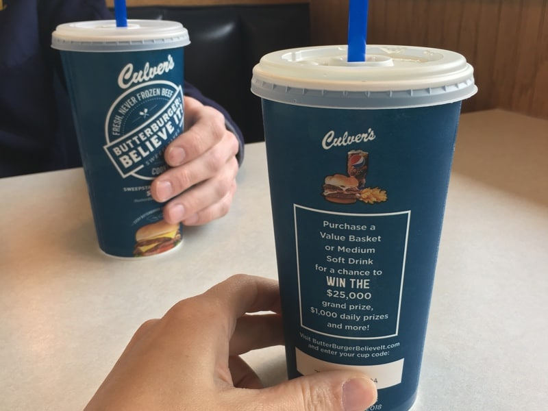 Date Night at Culver's