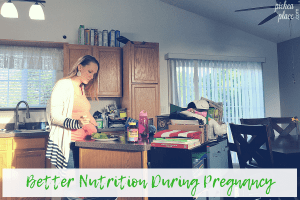 Better nutrition during pregnancy is a two-part process: eating healthy & supplementing with a multivitamin. We've got some easy healthy meal ideas to help you eat better, plus we've found the best prenatal vitamins for you and baby!