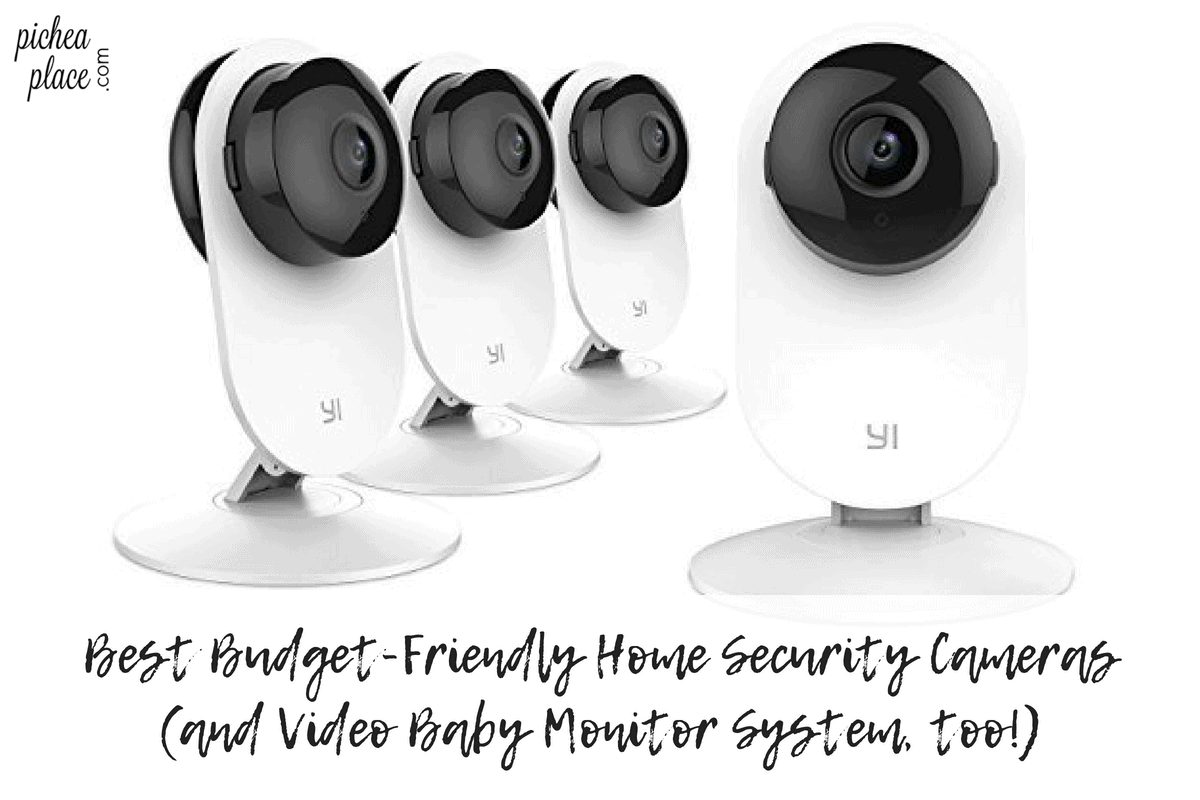 When we started shopping for the best budget-friendly home security cameras last year, we had no idea we'd find a home surveillance system that would double as a video baby monitor, too!