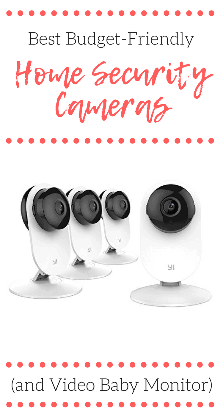 When we started shopping for the best budget-friendly home security cameras last year, we had no idea we would find a home surveillance system that would double as a video baby monitor, too!