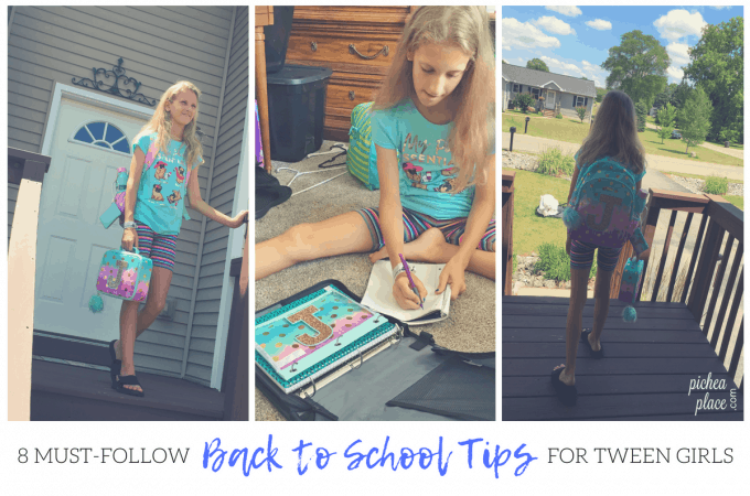 8 Must-Follow Back to School Tips for Tween Girls