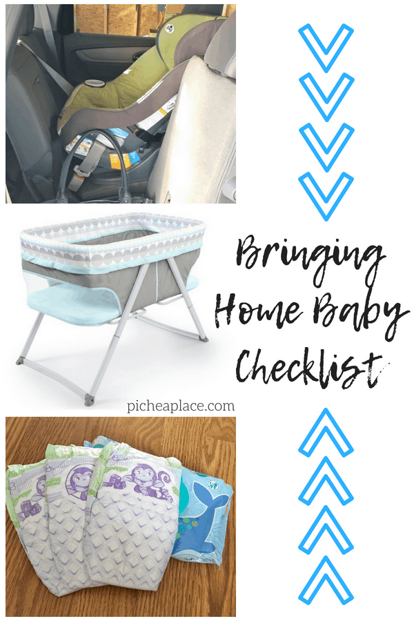 As an experienced mom of five, I've created a bringing home baby checklist with the essentials necessary for baby's safety and comfort & your peace of mind.
