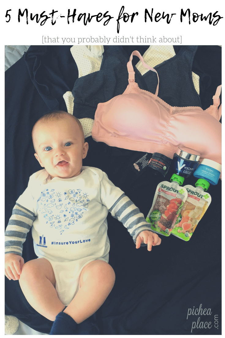 5 Must-Haves for New Moms [that you probably didn't think about]