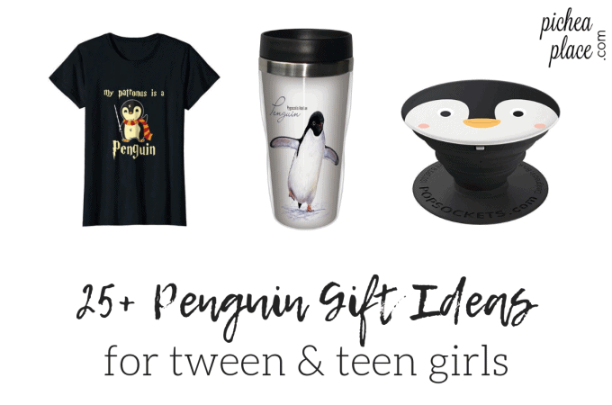 Penguin Gift Ideas for Tween & Teen Girls