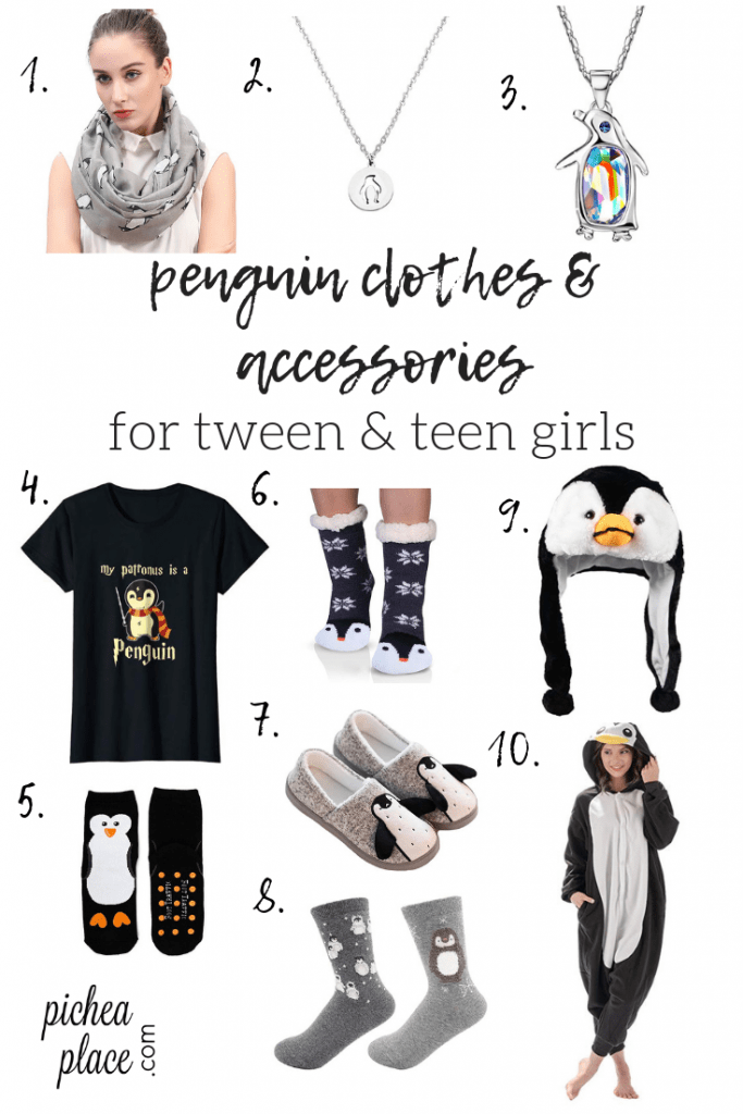 penguin clothes & accessories - great gift ideas for tween & teen girls