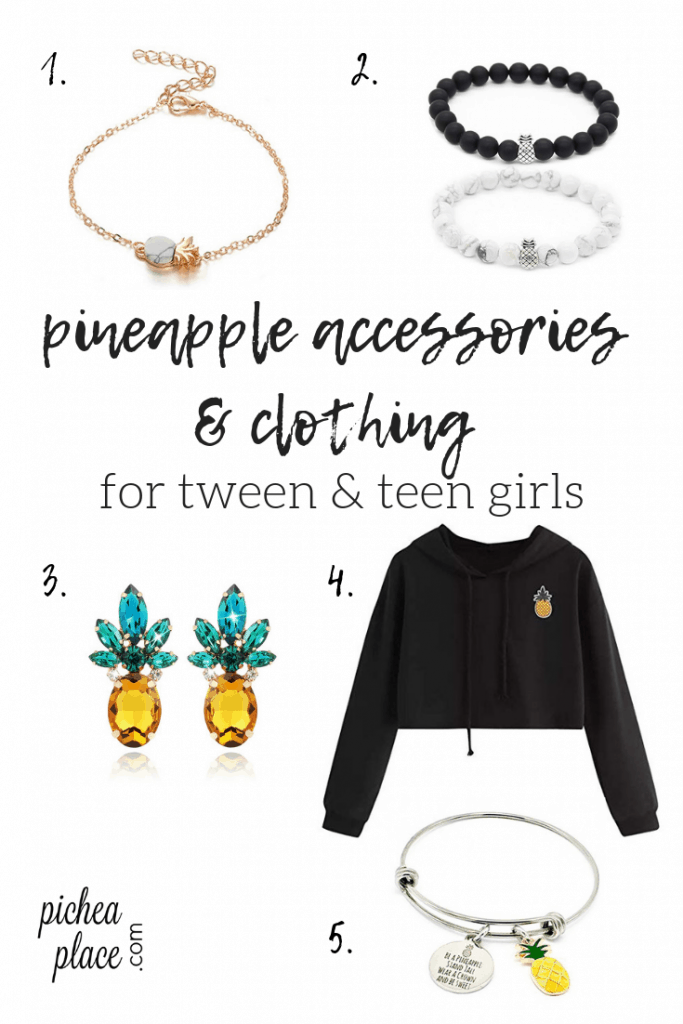 Need a gift idea for a pineapple lover in your life? Check out this list of great pineapple gifts for tween & teen girls!