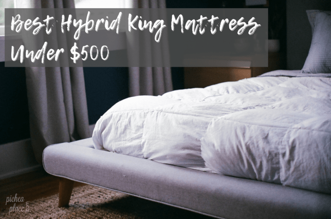 Busy parents don't have time to sit and wade through hundreds of options when shopping for the best hybrid king mattress under $500. I've done the leg work so you don't have to. Keep reading to see why these king mattresses made my short list.