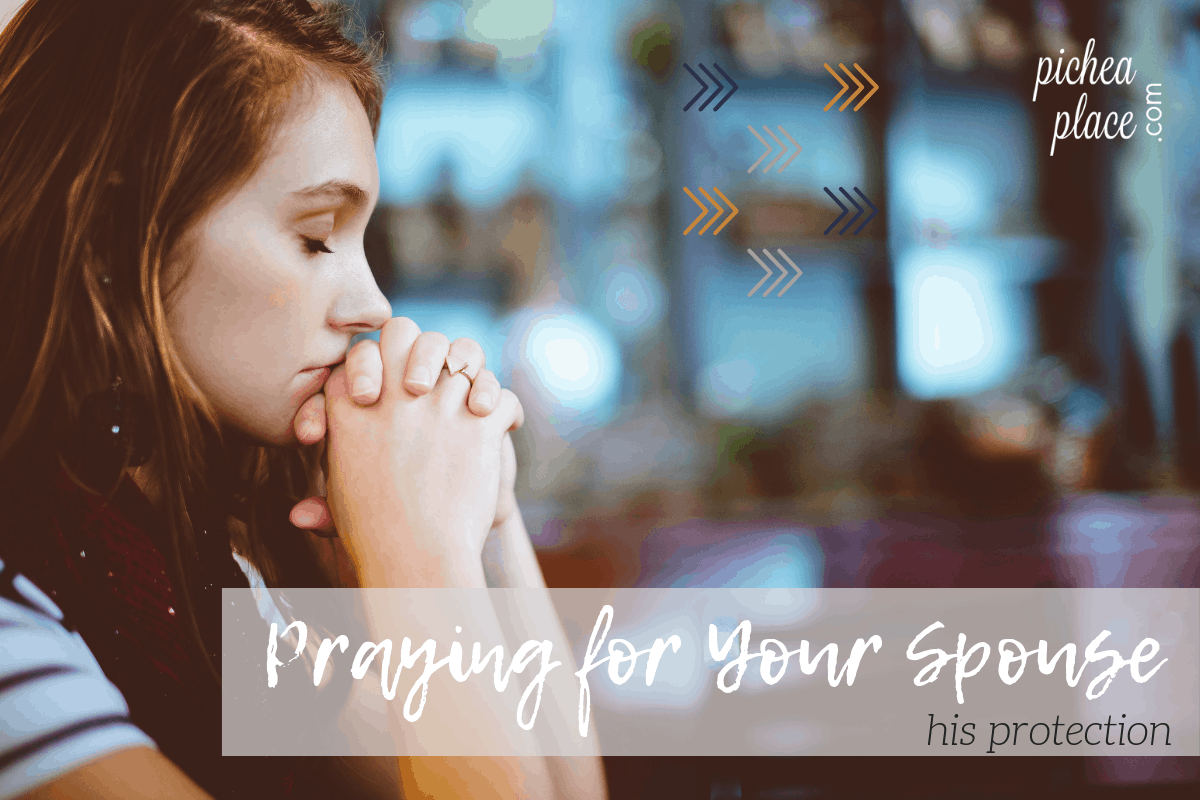 Praying God's Word for your marriage can be powerful. I use these Scriptures to springboard my prayer for my husband - protection for all areas of his life!