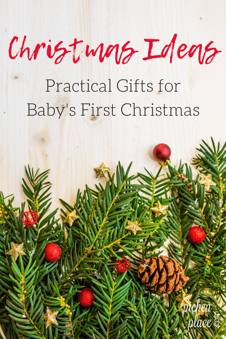 Looking for fun, yet practical gift ideas for baby's first Christmas? Here are some ideas to get you started this holiday season.