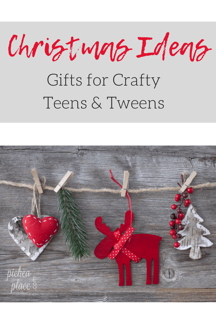 It can be difficult to come up with great gift ideas for tweens and teens. My tween girl loves to do crafts and DIY projects, so I have created a list of ideas of gifts she would enjoy receiving. Hopefully it will spark some great gift ideas for crafty teens and tweens in your life!