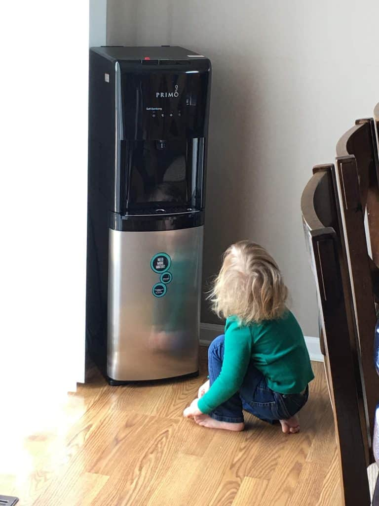 kid-friendly in-home water dispenser