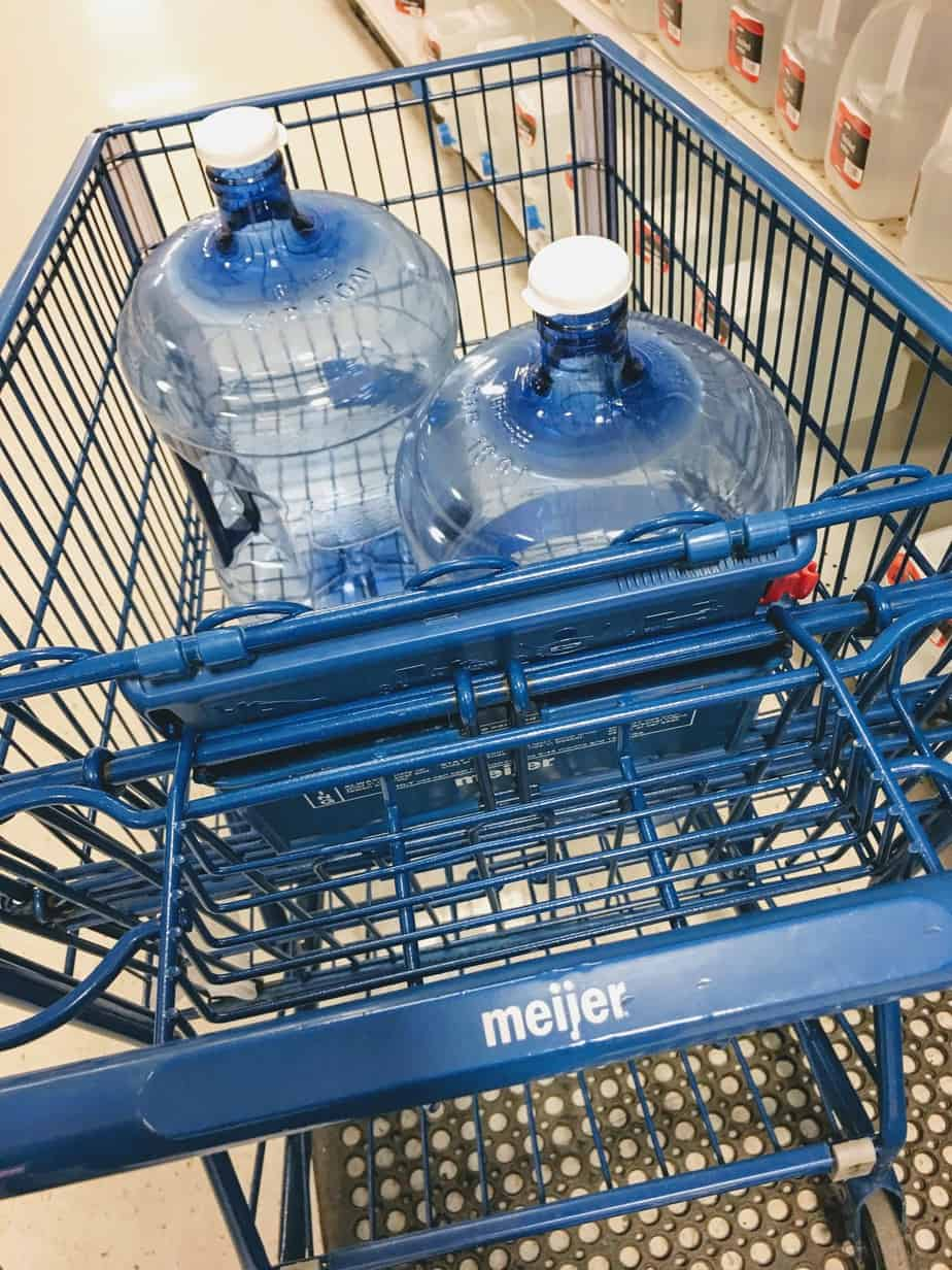 refill Primo water at Meijer in Michigan