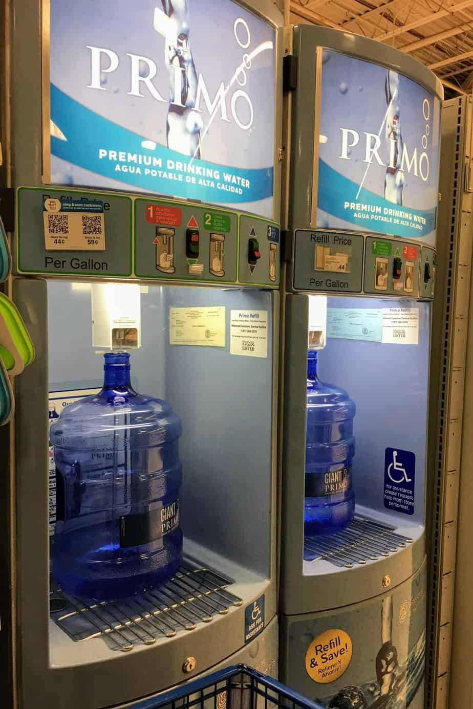 Primo water is the best water for busy families