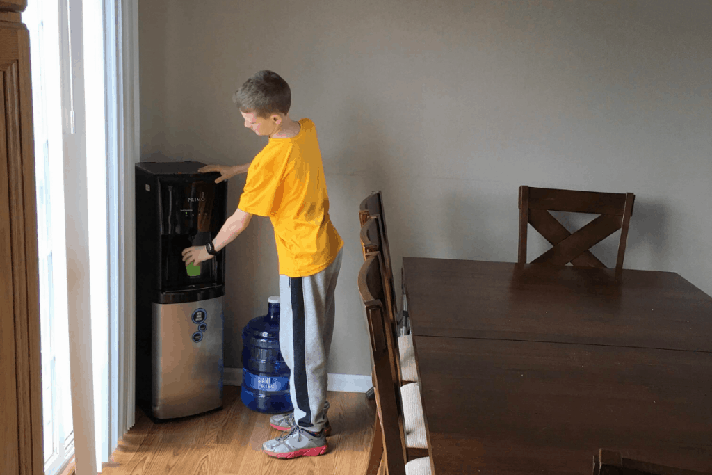 best water for busy family - kids